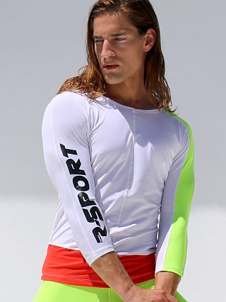You may also like: Rufskin Racer R-Sport Fitted Tee White/Neon/Red