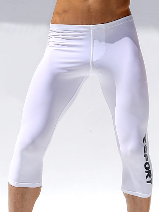 Rufskin Sprint 3/4-Length Training Tights White