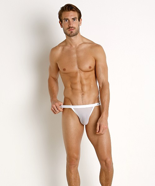 Modus Vivendi C-Through Mini Mesh Sport Brief White