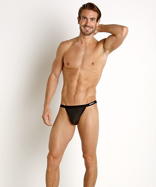 Modus Vivendi C-Through Mini Mesh Sport Brief Black