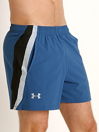 Under Armour Launch 5'' Running Short Petrol Blue/Reflective