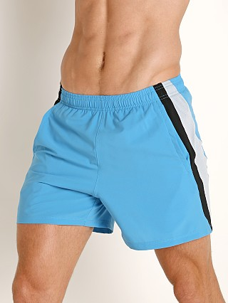 Under Armour Launch 5'' Running Short Ether Blue/Reflective