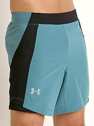 Under Armour Qualifier Speedpocket 7'' Short Dust/Reflective
