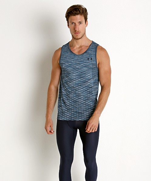 Under Armour Vanish Seamless Tank Top Ether Blue/Black