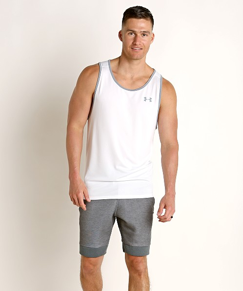 Under Armour Tech 2.0 Tank Top White/Steel