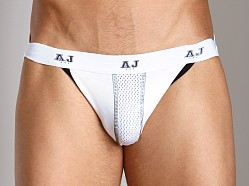 American Jock Mesh Air Jock White/Black