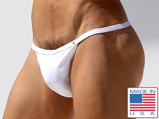 Rufskin Split Calkini Swim Brief Cream