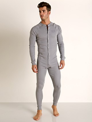 Nasty Pig Union Suit Grey