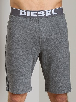 Diesel Hans Cotton Jersey Lounge Shorts Grey