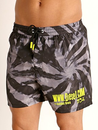 Model in smoke Diesel Wave 2.017 Swim Shorts