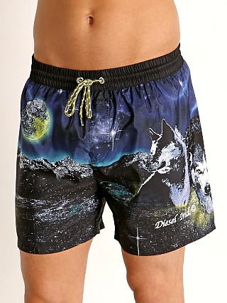 Model in galaxy Diesel Wave 2.017 Swim Shorts