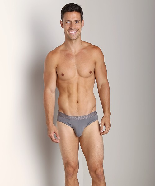 Diesel Microfiber Jolly Brief Steel Grey