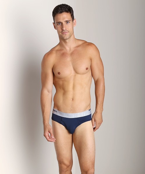 Diesel Microfiber Blade Brief Navy