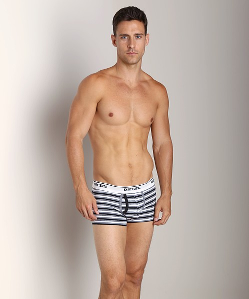 Diesel Striped Divine Trunk Black