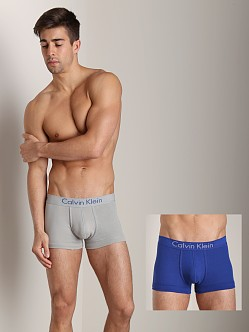 Calvin Klein Body 2 Pk Trunk Dark Midnight & Medium Grey