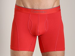 Calvin Klein Athletic Boxer Brief Red Heat