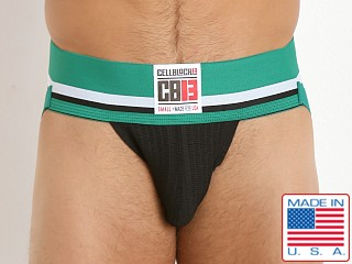 Cell Block 13 Mesh Enforcer Jockstrap Green