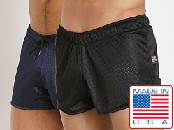 Cell Block 13 Reversible Mesh Beer Bust Shorts Black/Navy