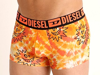 Model in orange Diesel 55-D Trunk Tie Dye