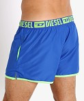 Diesel Sandy Reversible Swim Shorts Neon Green/Blue, view 4