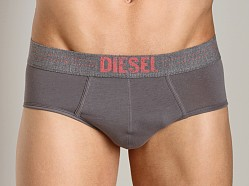 Diesel Dot Line Rico Brief Charcoal