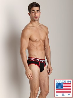 Timoteo Double Crossed Brief Black