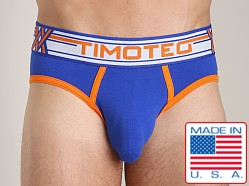 Timoteo Double Crossed Brief Blue