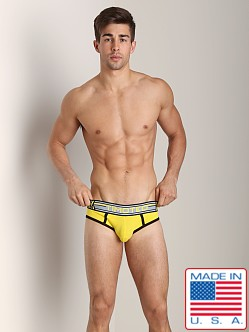 Timoteo Double Crossed Slingshot Jock Yellow
