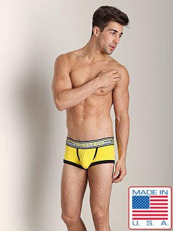Timoteo Double Crossed Boxer Brief Yellow