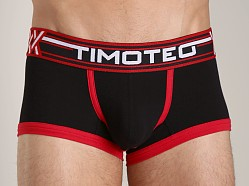 Timoteo Double Crossed Boxer Brief Black