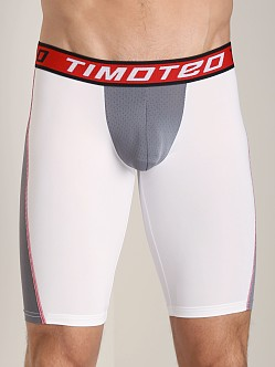 Timoteo Aero-Flow Mesh Compression Short White