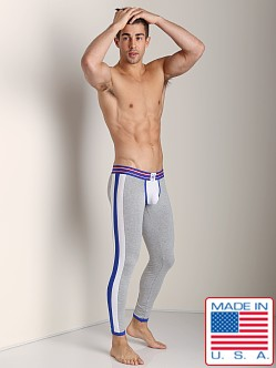 Timoteo Varsity Relay Pant White/Grey/Blue