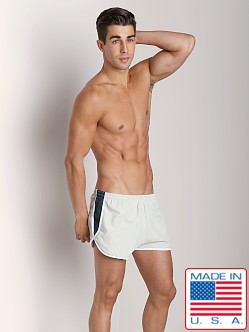 Sauvage Active Retro Ripstop Nylon Short Pearl