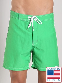 Sauvage Low Tide Nylon Swim Trunk Kelly