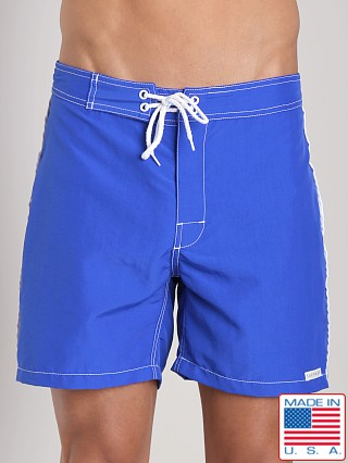 Sauvage Low Tide Nylon Swim Trunk Cobalt