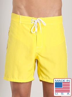 Sauvage Low Tide Nylon Swim Trunk Yellow