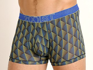 Model in 3d scale black 2xist Speed Dri Mesh Trunk