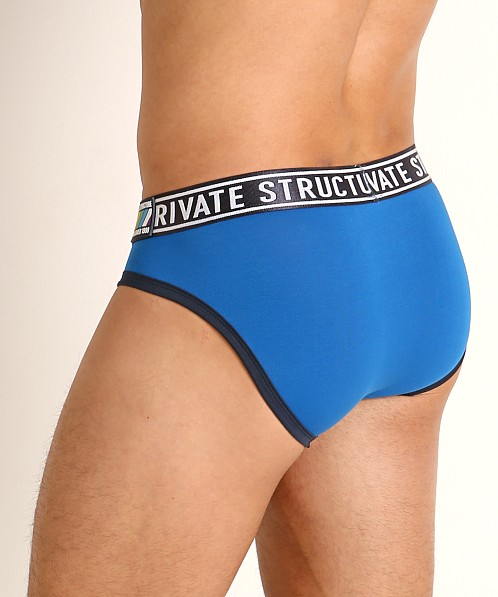 Private Structure Low Rise Pride Brief Freedom Blue