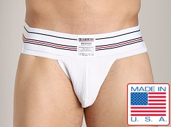 Cell Block 13 Locker Jock White