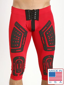 Cell Block 13 Lace Up Stryker Pant Red