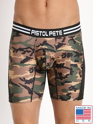 Pistol Pete Commando Compression Short Olive Camouflage