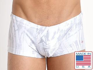 Pistol Pete Ice Swim Trunk w/Pouch White
