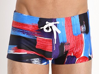 You may also like: 2xist Photo Paint Cabo Swim Trunk Poppy