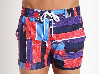 2xist Photo Paint Ibiza Swim Shorts Poppy