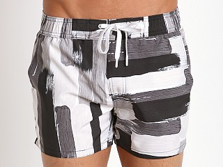 2xist Photo Paint Ibiza Swim Shorts Black