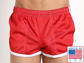 Pistol Pete Metro Short w/Lining Red