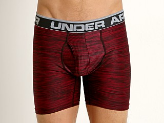 "Under Armour Original 6"" Twist Boxerjock Black Currant"