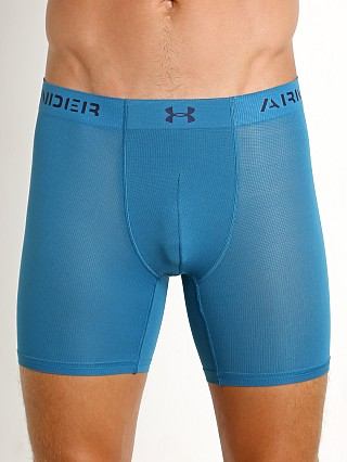 "Under Armour Armourvent Mesh 6"" Boxerjock Bayou Blue"