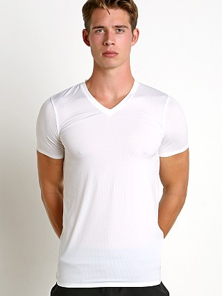 Complete the look: Under Armour Armourvent Mesh V-Neck Tee White