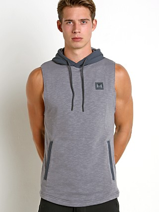 Under Armour Sportstyle Sleeveless Hoodie Heather/Grey